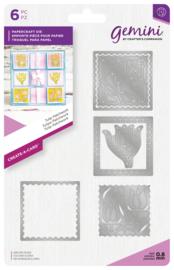 Gemini Create-a-Card - Tulip Patchwork (Tulp)