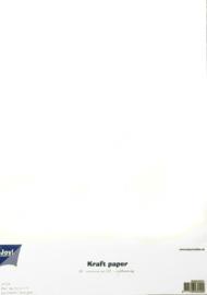 Kraft Papier A4 wit