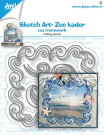 Joy Stansmal - Sketch Art- Zee kader