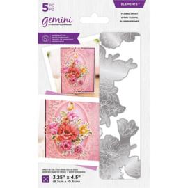 Gemini Elements snijmal - Floral Spray