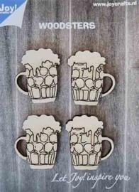 Woodsters - Bierpullen