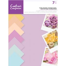 Crafter's Companion Floral Foam - Bloemen pastel kleuren