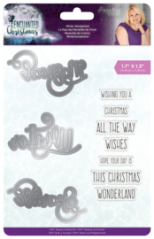 Enchanted Christmas - Clearstamp & snijmal - Winter Wonderland