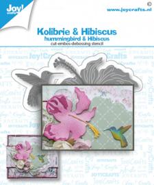 Joy Stansmal - Kolibrie & bloem