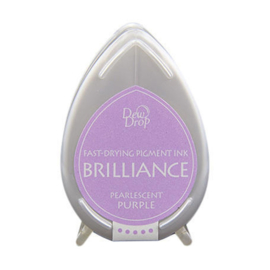Dew Drop Brillance Ink Pad Pearlscent Purple