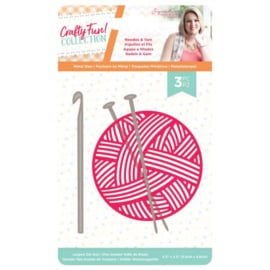 Crafty Fun - Metalen snijmal - Needles & Yarn
