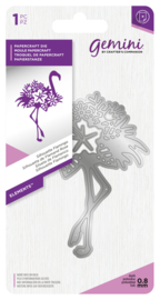 Gemini Elements - Silhouette Flamingo snijmal