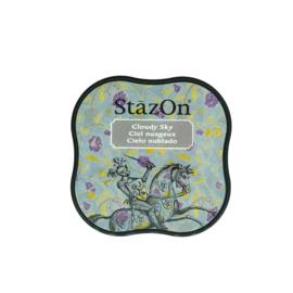 StazOn midi solvent dye ink 5,8x5,8cm Cloudy Sky