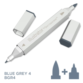 Spectrum Noir Illustrator losse pennen - Blue Grey (Blauwgrijs BGR4)