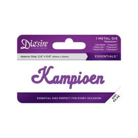 Crafter's Companion Die'sire Essentials Only Words Snijmal Nederlands - Kampioen