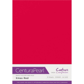 Crafter's Companion Centura Pearl - Xmas Red (Kerst rood)
