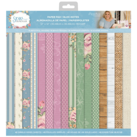 Sara Signature Collection Sew Homemade - 12x12 Paperpad