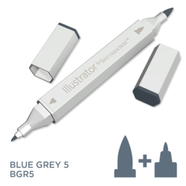 Spectrum Noir Illustrator losse pennen - Blue Grey (Blauwgrijs BGR5)