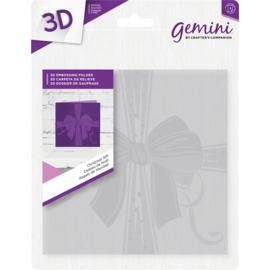 Gemini 15x15 cm 3D-embossingfolder - Christmas Gift