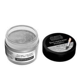 Spectrum Noir Metallic Vloeibare Inkt 30ml - Silver Ingot (Zilveren baar)