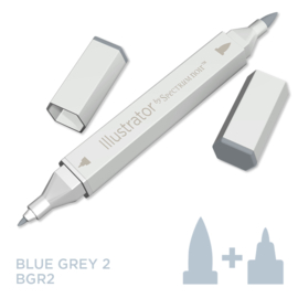 Spectrum Noir Illustrator losse pennen - Blue Grey (Blauwgrijs BGR2)