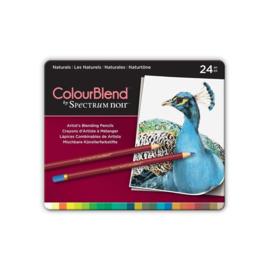 Colourblend Potloden a 24 stuks - Naturals