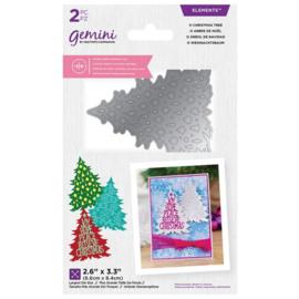 Gemini - Dubbelzijdige snijmal - O Christmas Tree