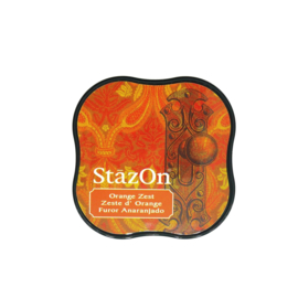 StazOn midi solvent dye ink 5,8x5,8cm Orange Zest