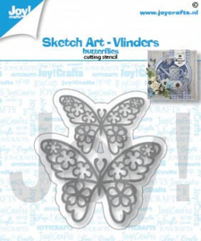 Joy Stansmal - Sketch art-Vlinders