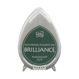Dew Drop Brillance Ink Pad Pearlescent Ivy