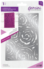 Gemini A6 Create-a-Card - Thorn Swirls (Doorn Swirls)