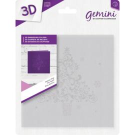 Gemini 15x15 cm 3D-embossingfolder - Festive Pine