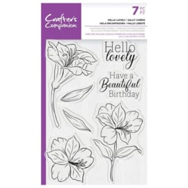 CC - Clearstamp - Hello Lovely