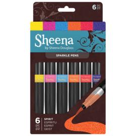 Sheena Douglass Sparkle 6 Pen Sets - Spirit (geest)