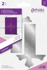 Gemini Elements -  Wrap snijmal - Ornate Cross (Sierlijk kruis)