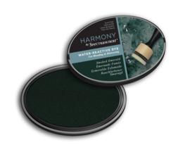 Spectrum Noir Inktkussen - Harmony Water Reactive - Smoke Emerald (Rooksmaragd)