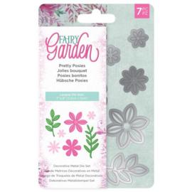 Fairy Garden - Snijmal - Pretty Posies (Mooie ruikertjes)