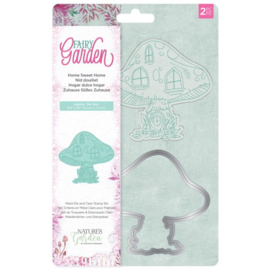 Fairy Garden - Clearstamp en snijmallen set - Home Sweet Home