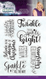Enchanted Christmas - Clearstamp - Sparkle all the way