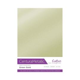 Crafter's Companion Centura Metallic Green gold