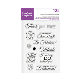 Crafter's Companion Shaped Clearstamp - Be Fabulous Accessoires