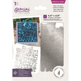 Gemini Folie Stamp mal - CAC - Merry and Bright