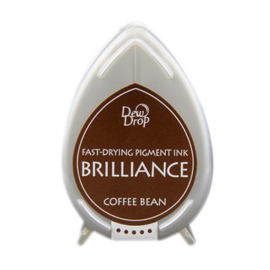 Dew Drop Brillance Ink Pad Coffee Bean