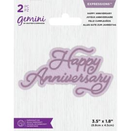 Gemini Expressions - Happy Anniversary