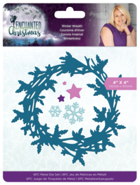 Enchanted Christmas - Metalen snijmal - Winter Wreath