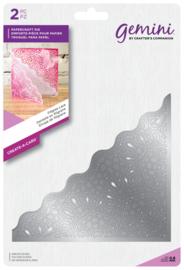 Gemini Create-a-Card - Filigree Lace mozaïek (Kant)