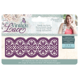 Vintage Lace - Metalen snijmal - Chantilly Lace Border
