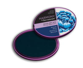 Spectrum Noir Inktkussen - Harmony Quick Dry - Midnight (Middernacht)