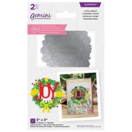 Gemini - Dubbelzijdige snijmal - Joyful Wreath