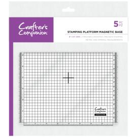 """Crafter's Companion Stempel platform magnetisch  - 8""""x8"""" (20x20 cm)"""