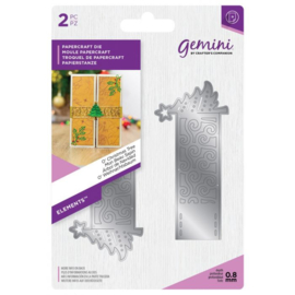 Gemini Elements -  Wrap snijmal - O' Christmas Tree