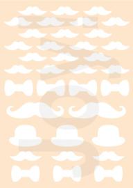 Polybesastencil - Gentlemens Moustache