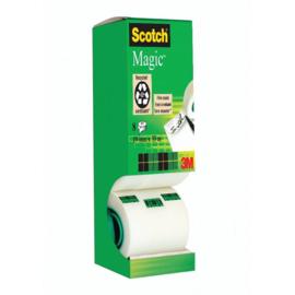 Value Pack: 7 x Scotch® Magic™ Tape, Kartonnen Toren + 1 rol gratis