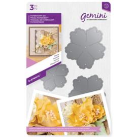 Gemini Snijmal Floral Foam - Elements - Peony (pioen)