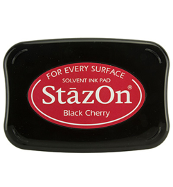 Stazon Ink Black Cherry
